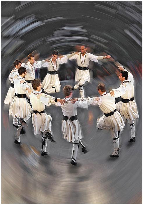 Németh Mihály::Görög néptáncosok