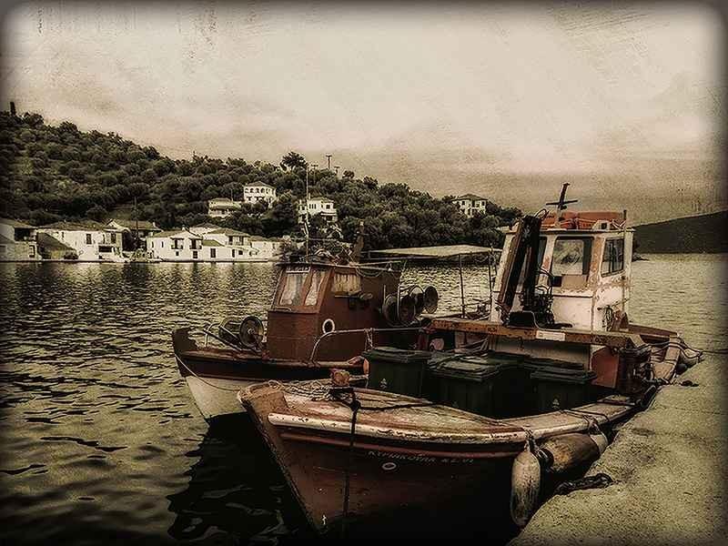 Stipsits Ibolya::Garbage ship