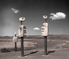 Beszélgető szobrok
